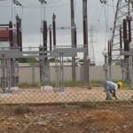 Des installations électriques à Lomé