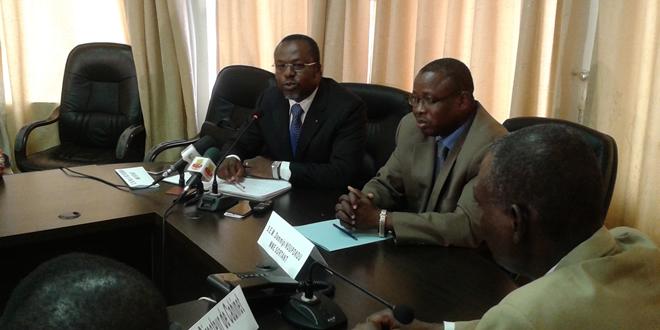Les Ministres ABLY-BIDAMON et Dammipi NOUPOKOU 2