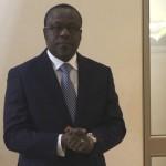 Monsieur Marc D. ABLY-BIDAMON, Ministre des Mines et de l'Energie