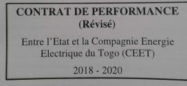 L'Etat et la CEET liés par un contrat de performance