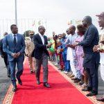 Le Président Talon accueilli par le Président Gnassingbé à son arrivée à Lomé