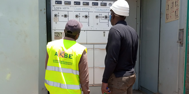 Exploitation des infrastructures du réseau de distribution de l'électricité: L'ARSE effectue une tournée de contrôle à la CEET